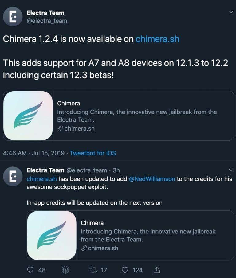 Chimera jailbreak new