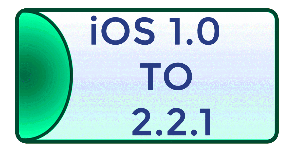 iOS 1.0 → 2.2.1 Jailbreak using older jailbreak tools listed on The iPhone Wiki