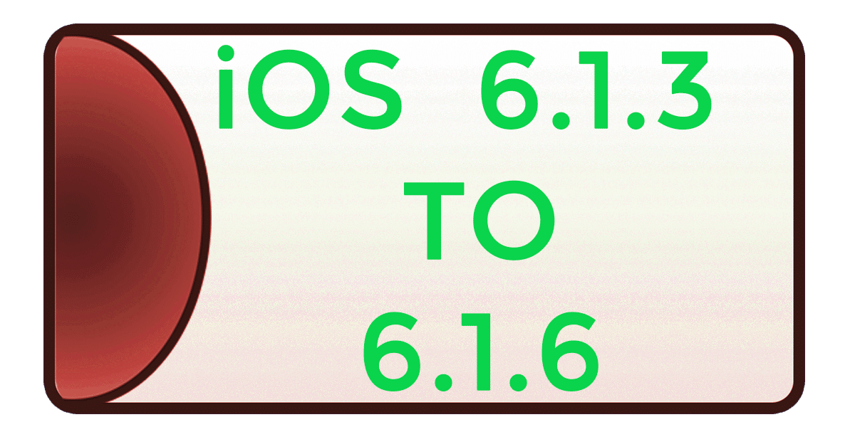 iOS 6.1.3 → 6.1.6 Jailbreak using p0sixspwn