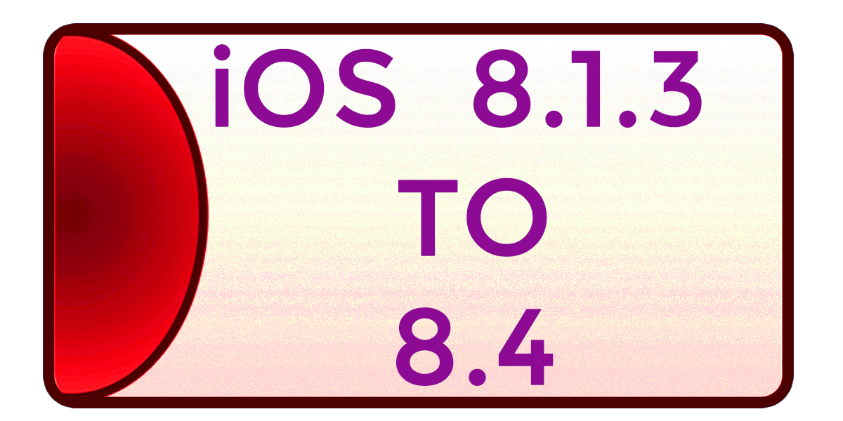 jailbreak iOS 8.1, iOS 8.1.1, iOS 8.1.2 and iOS 8.1.3.