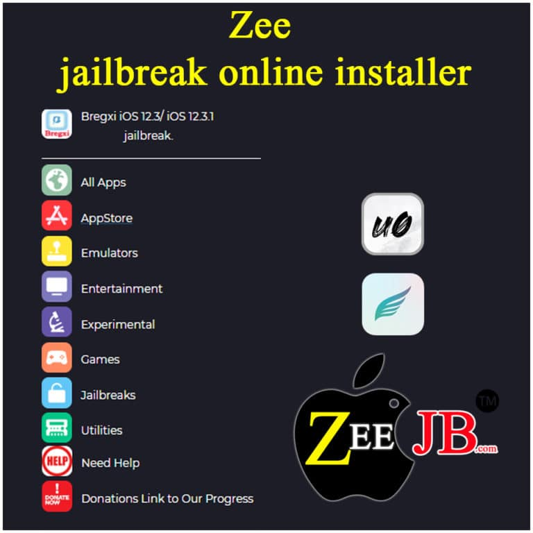 Zee-AppStore is the Number #1 Third-party installer for iOS, that offers 1000+ apps and games for your iPhone.  By using ZeeApp you can Install Online  – Hexxa, Bregxi, Unc0ver, Chimera, Silio, Cydia and many more…