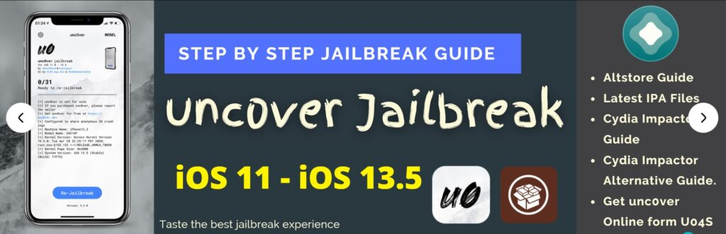 unc0ver Jailbreak Latest Guide