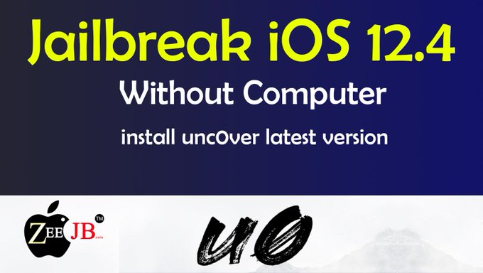 iOS 12.4 Jailbreak has been released.Install unc0ver jailbreak without using computer.