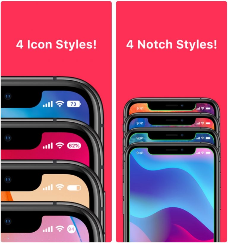 Bazzi 2 is a new jailbreak tweak by iOS developer Blake Boxberger that permits two different types of battery-centric Status Bar customization, including integral battery icon displays and notch-based battery displays.