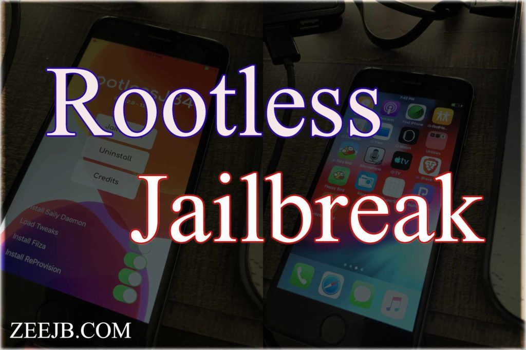 "Here is everything you know about the Rootless jailbreak for new iOS 12.4.7- iOS 12. Rootless Jailbreak is more similar to chimera and Unc0ver jailbreak-online. rootlessJB4 is also a ""semi-untethered"" jailbreak."