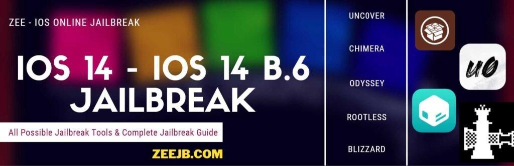 iOS 14 to iOS 14 beta 7 Jailbreak