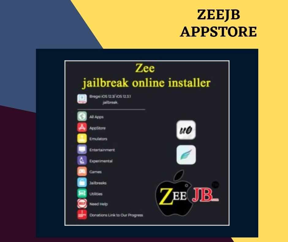 zeejb store provides the ability to install iOS apps, games, Grammarly apps, themes, and more.