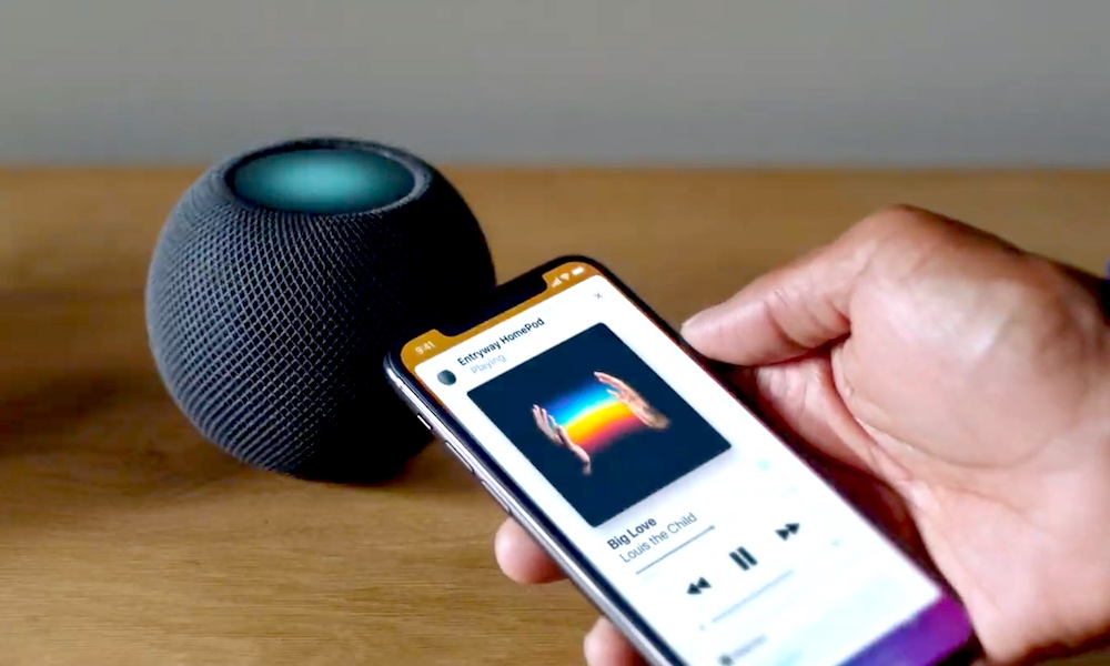 Home pods mini new features